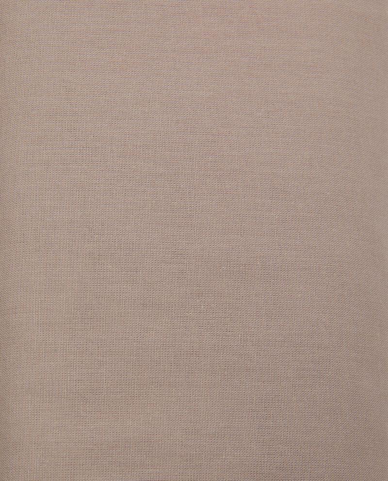 Lenzuolo matrimoniale angoli tinta unita in puro cotonedouble bordered 1