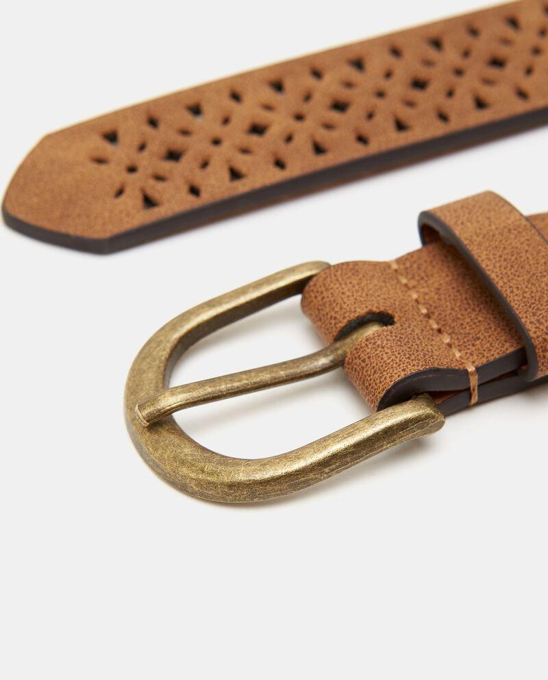 Cintura con motivo traforato donna