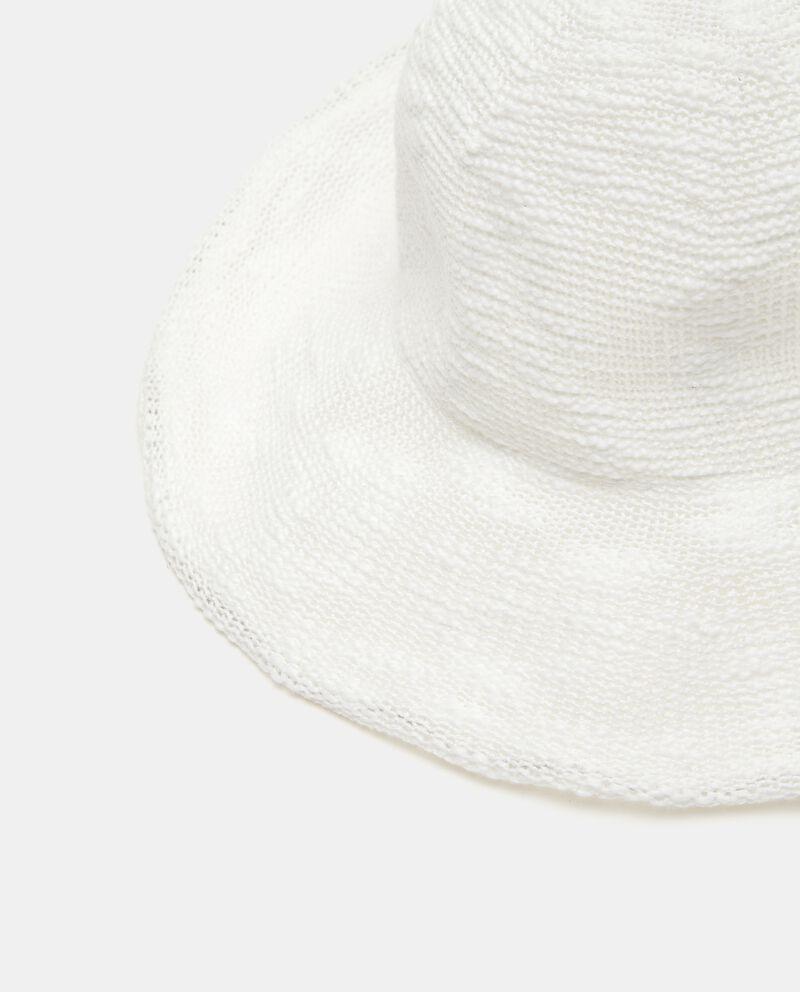 Cappello cloche in tessuto donna
