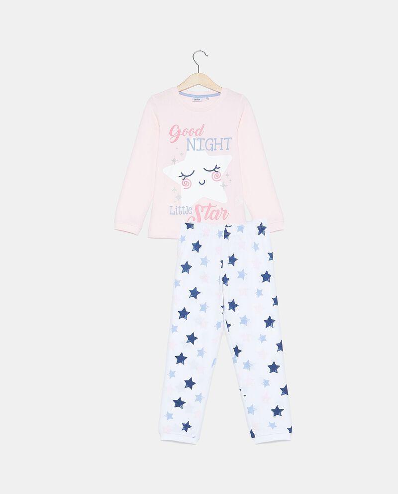 Set pigiama di puro cotone biologico bambina