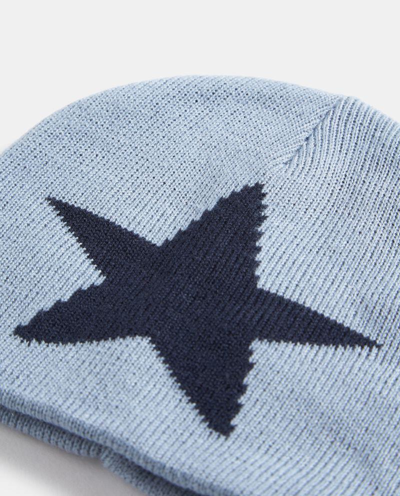 Cappellino con stella neonato