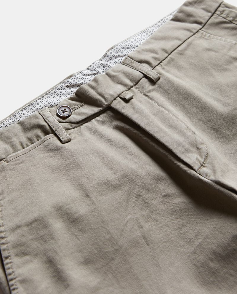 Pantaloni eleganti in tinta unita uomo single tile 1