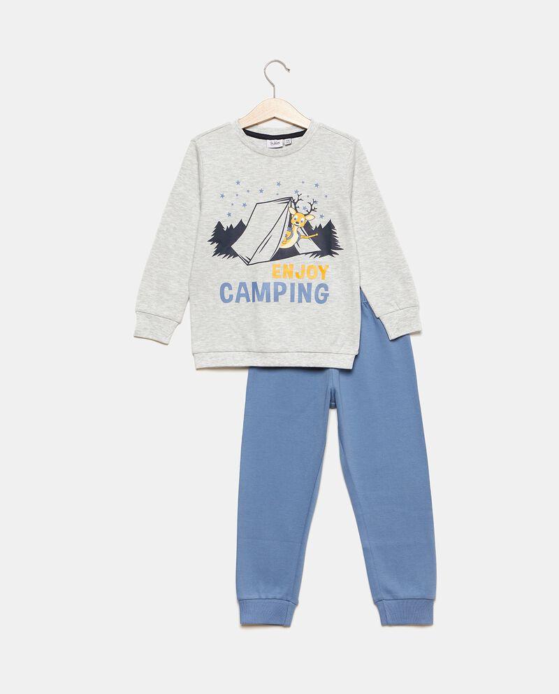 Set pigiama con maglia e pantaloni cover