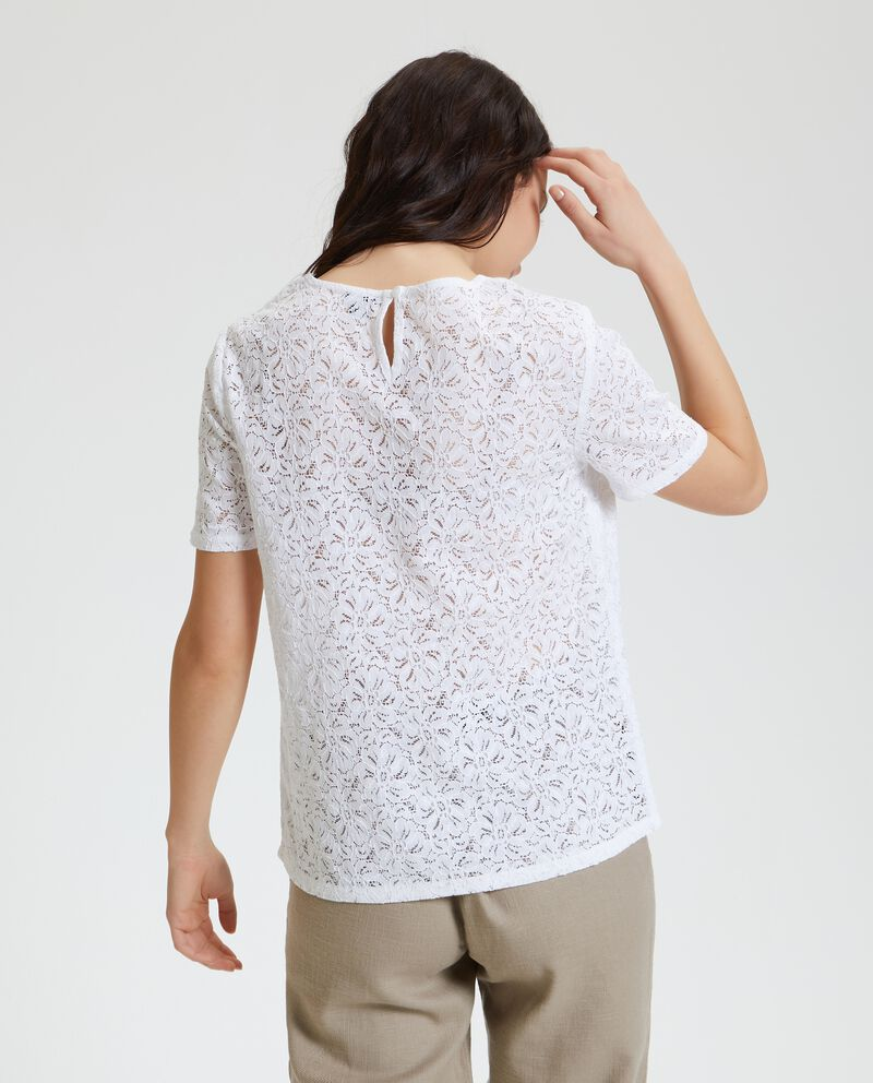 Blusa in pizzo donna single tile 1