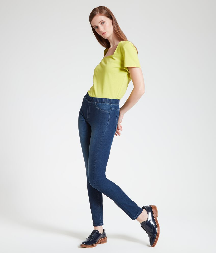 Jeggings donna skinny fit double 1