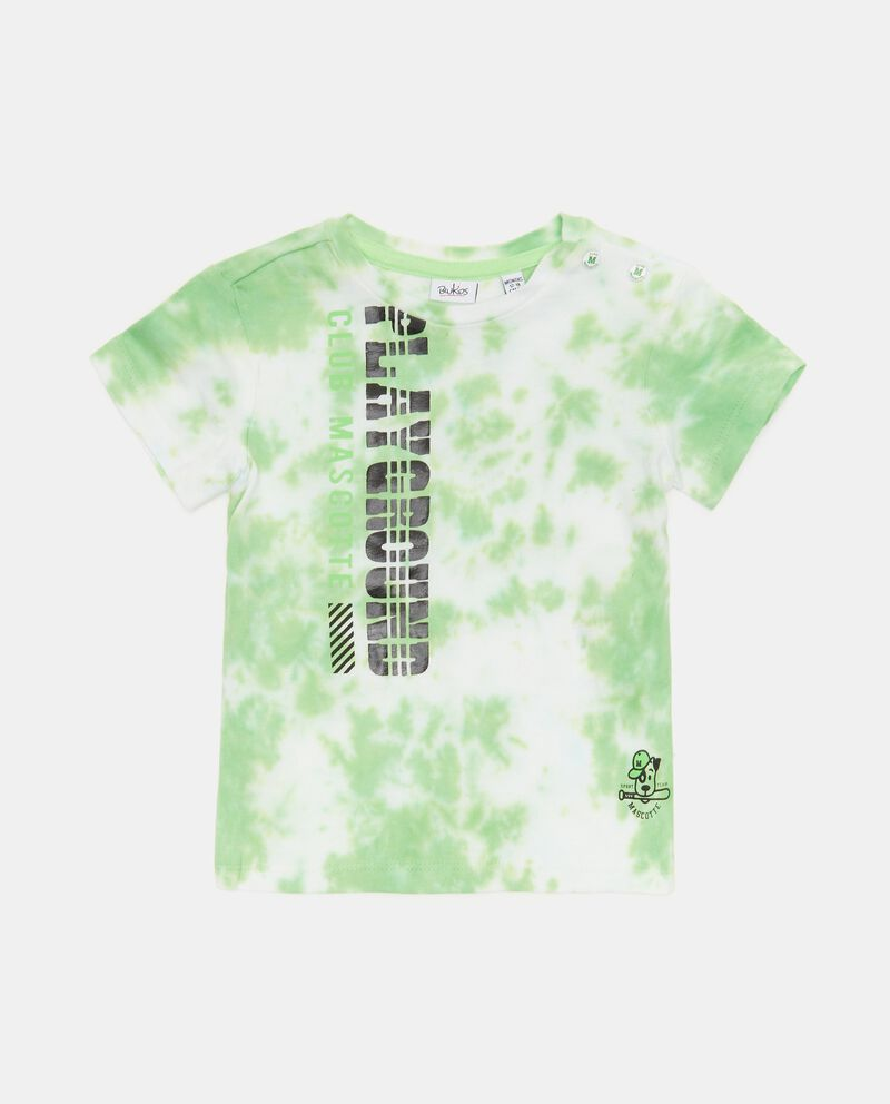 T-shirt tye and dye cotone organico neonato cover
