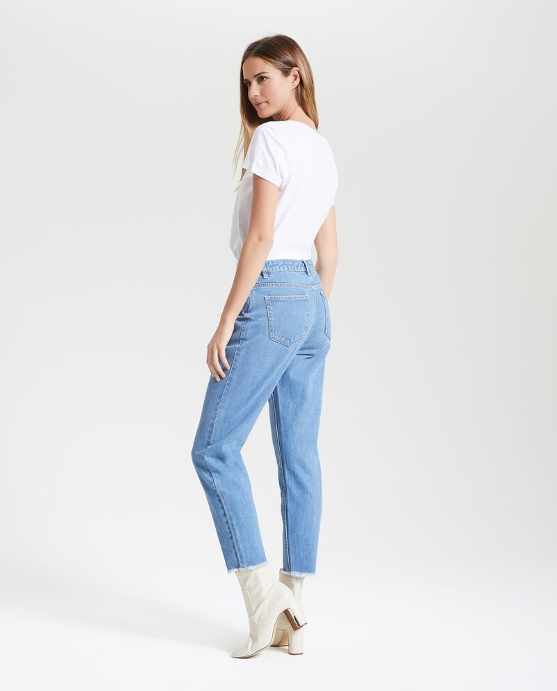 Jeans mom fit donna