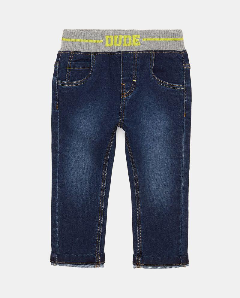 Jeans con vita elasticizzata