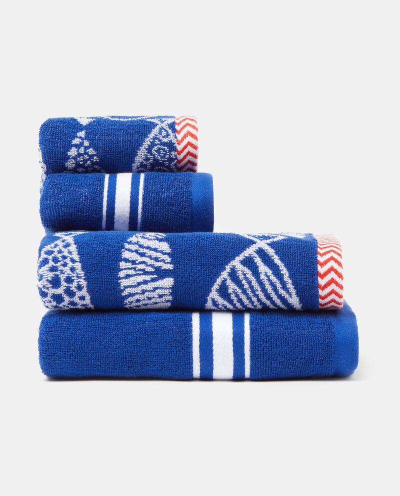 Set quattro asciugamani decori jacquard