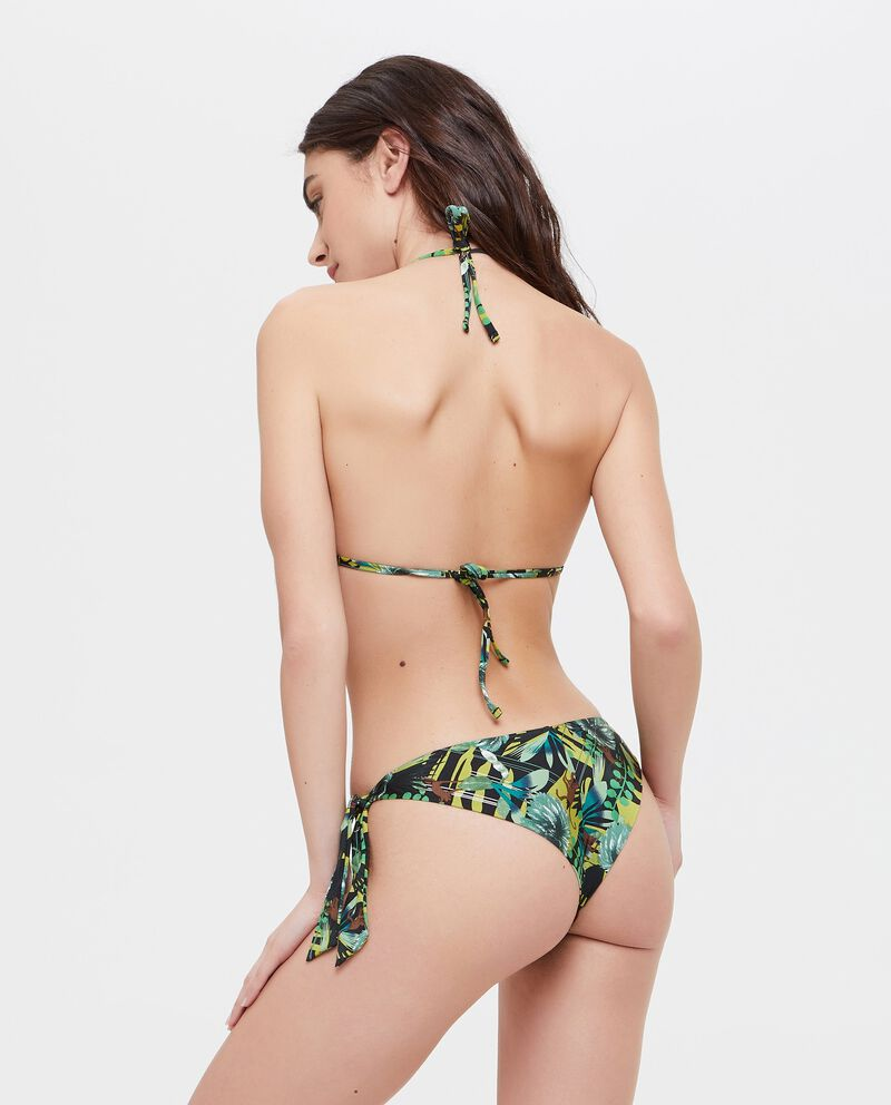 Slip Bikini con paillettes colorate
