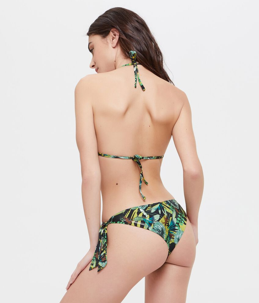 Slip Bikini con paillettes colorate