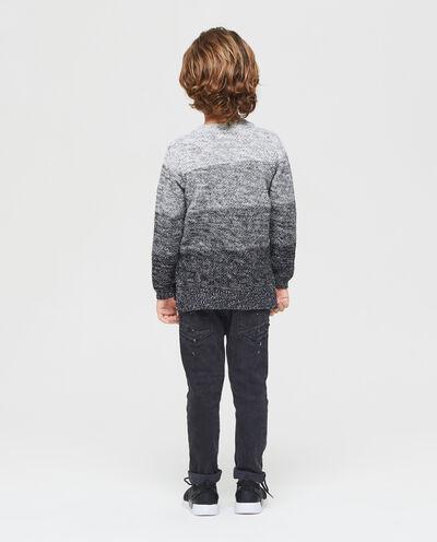 Maglione con righe ampie bambino