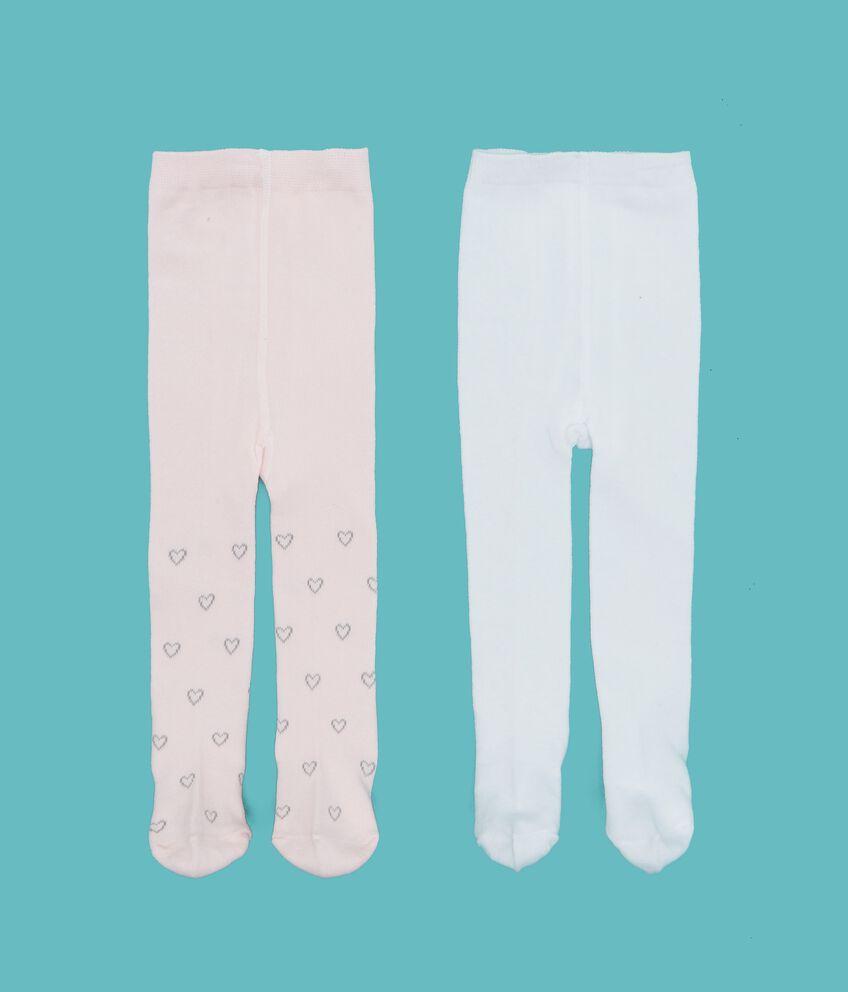Set calze fantasia e tinta unita neonata