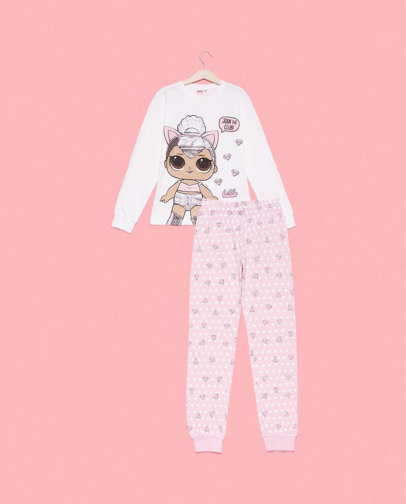 Set pigiama puro cotone biologico con maglia e pantaloni