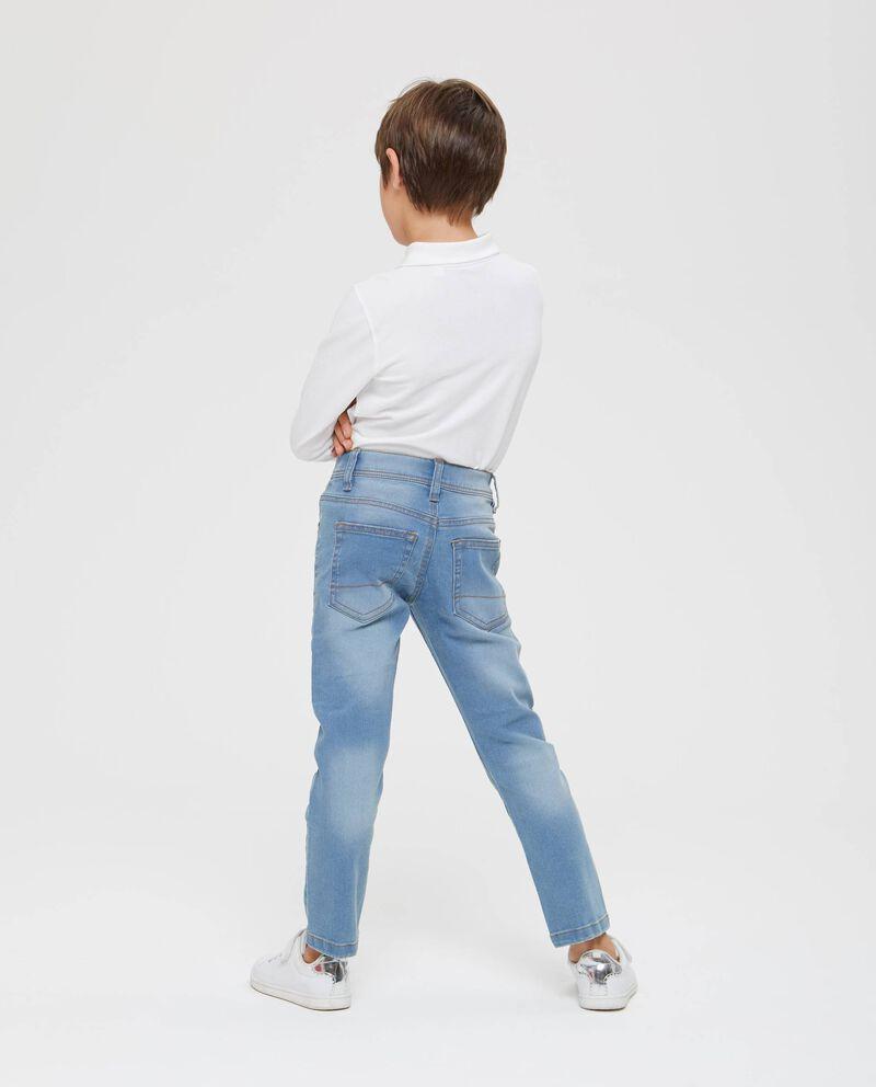 Jeans stretch effetto delavato