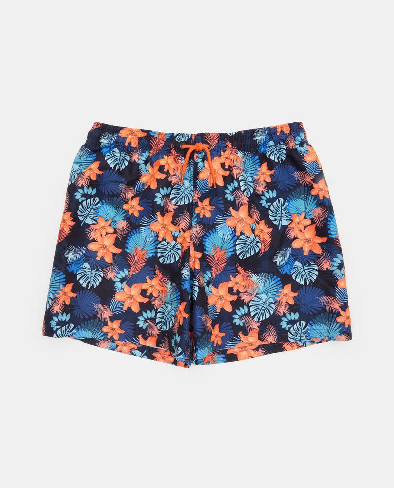 Shorts mare con fantasia floreale ragazzo