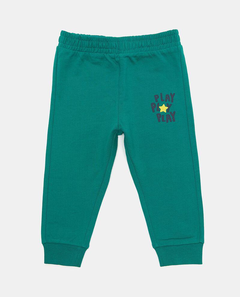 Pantaloni puro cotone neonato cover