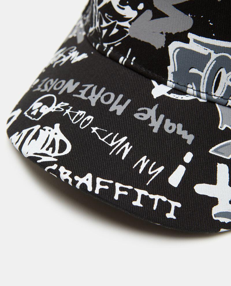 Cappello con frontino con stampa in cotone bambino single tile 1