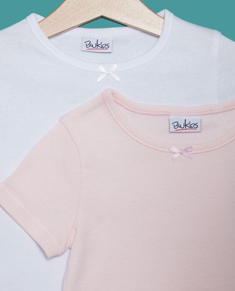 Bipack t-shirt puro cotone bambina