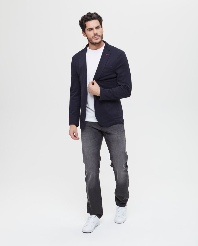 Blazer stretch con taschino