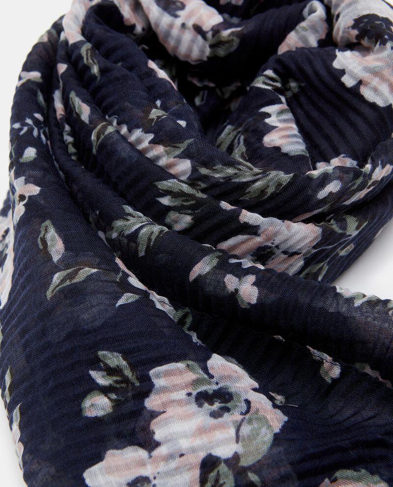 Sciarpa stampa fiori donna