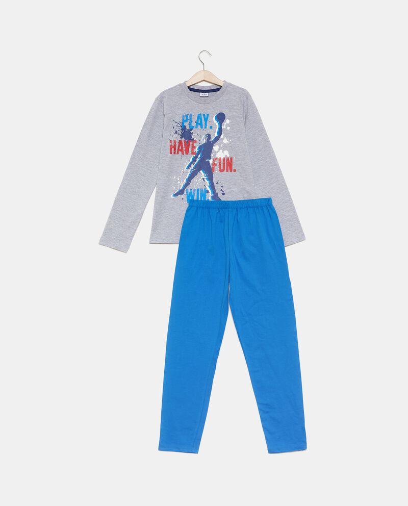 Set pigiama t-shirt stampata e pantaloni ragazzo