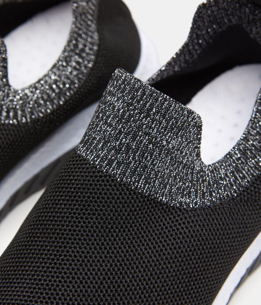 Sneakers con fascia a contrasto in maglia donna double 2