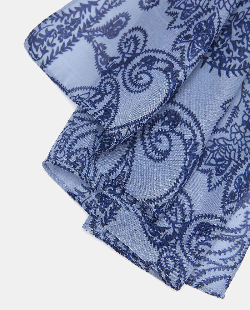 Sciarpa stampa cashmere donna single tile 1