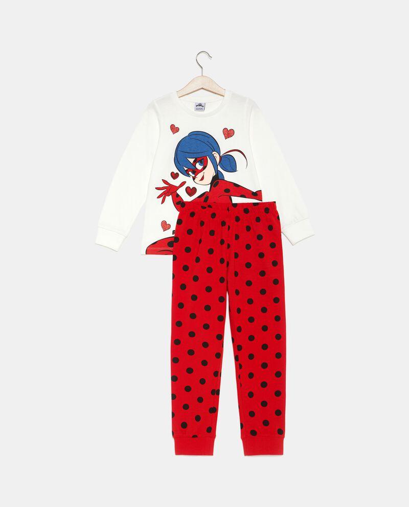 Set pigiama t-shirt e pantaloni pois bambina