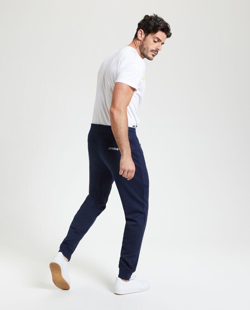 Pantaloni sportivi in tinta unita uomo