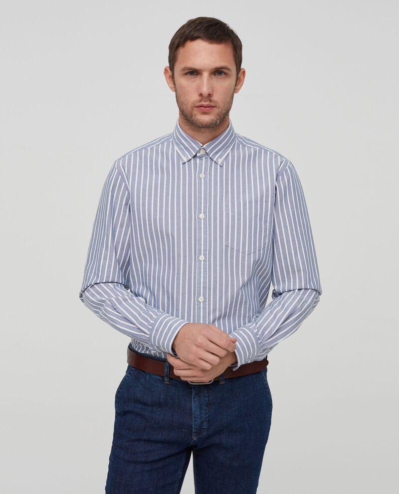 Camicia puro cotone a righe