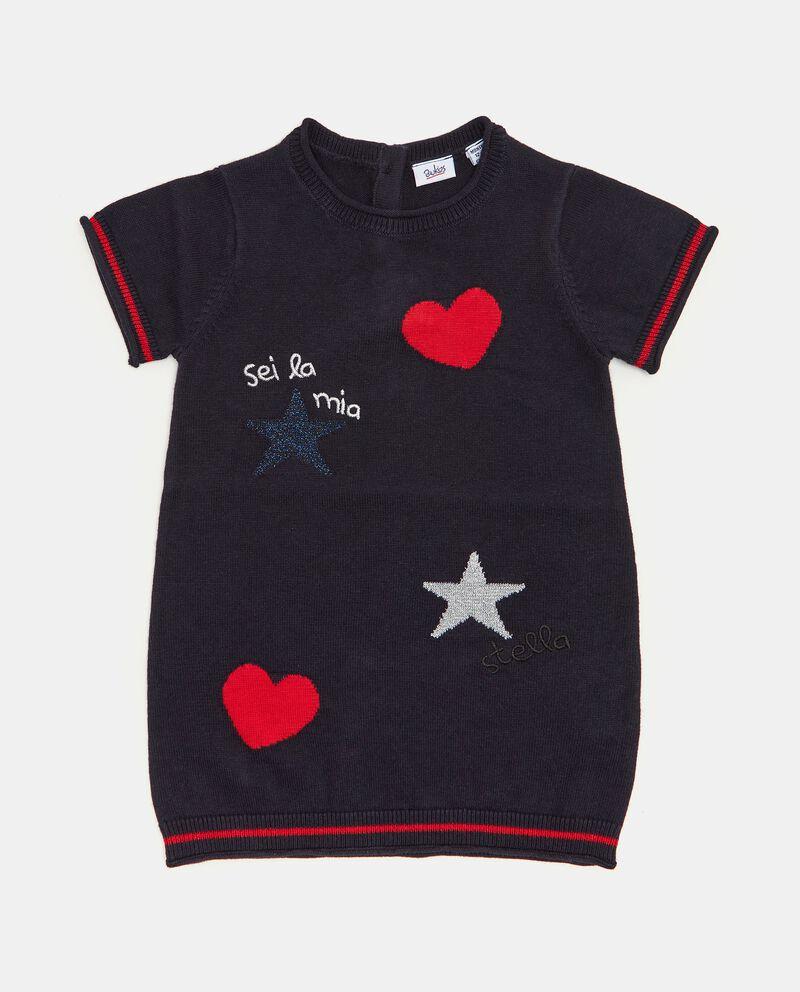Vestitino in maglina a maniche corte neonata