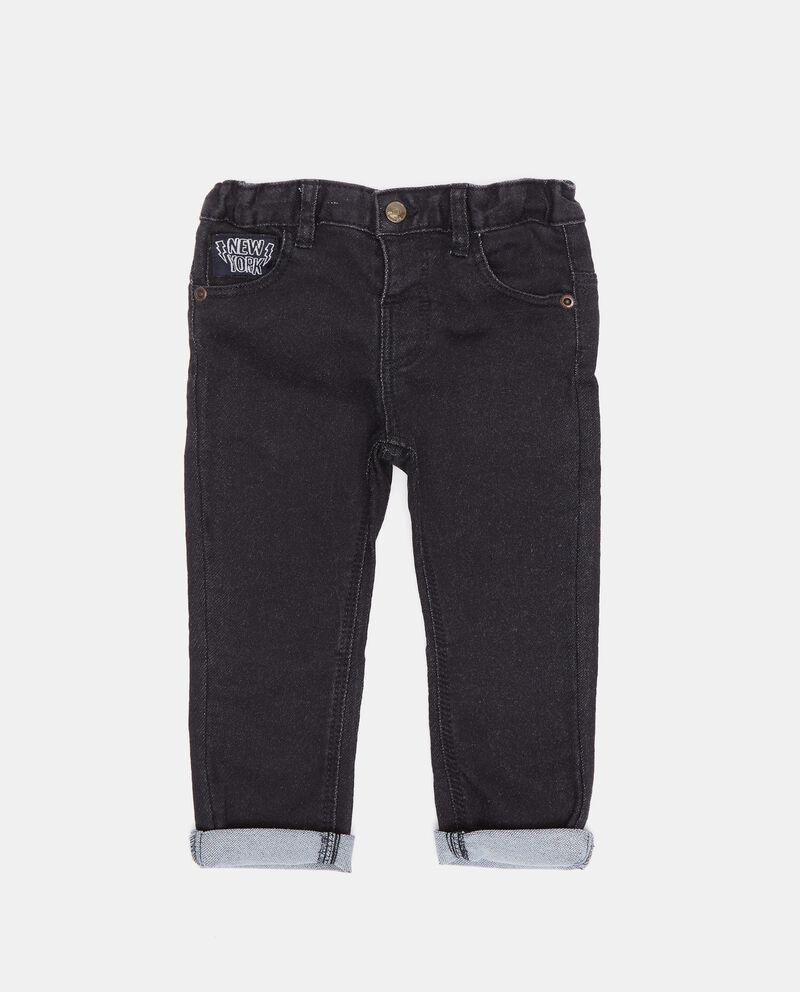 Pantaloni in cotone biologico neonato