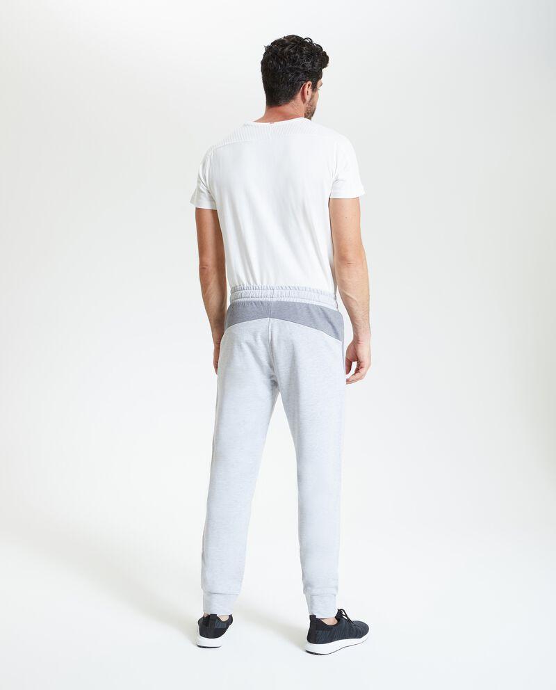 Pantaloni fitness mélange uomo