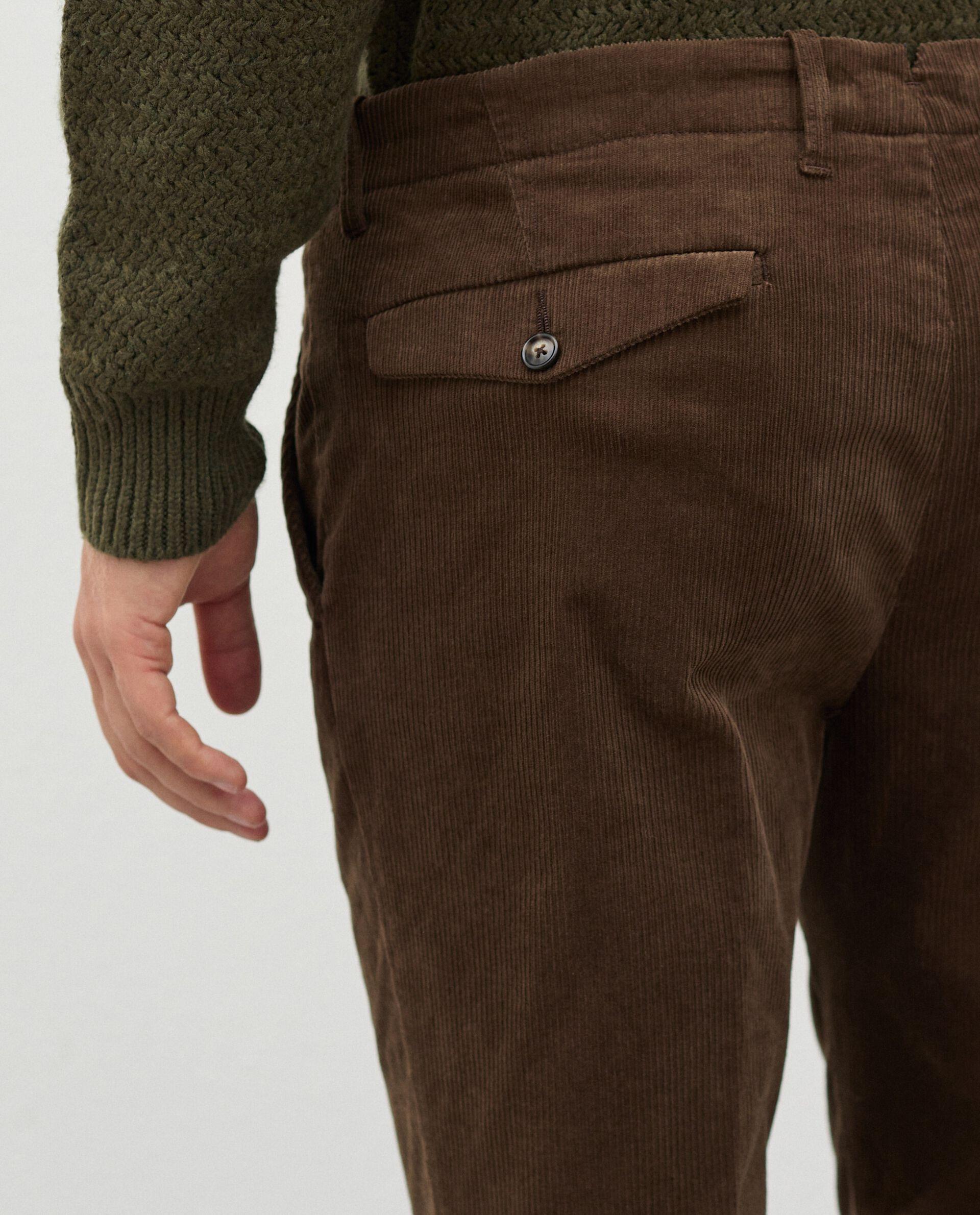 Pantaloni in velluto a costine uomo