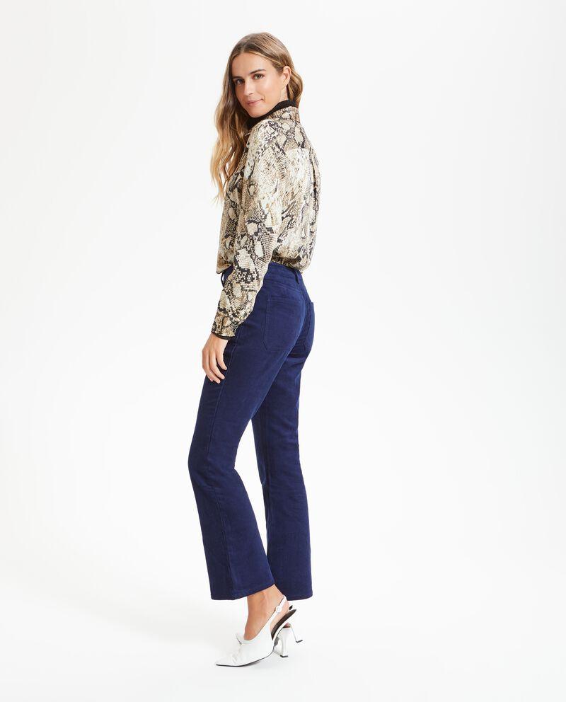 Pantaloni millerighe seventy donna