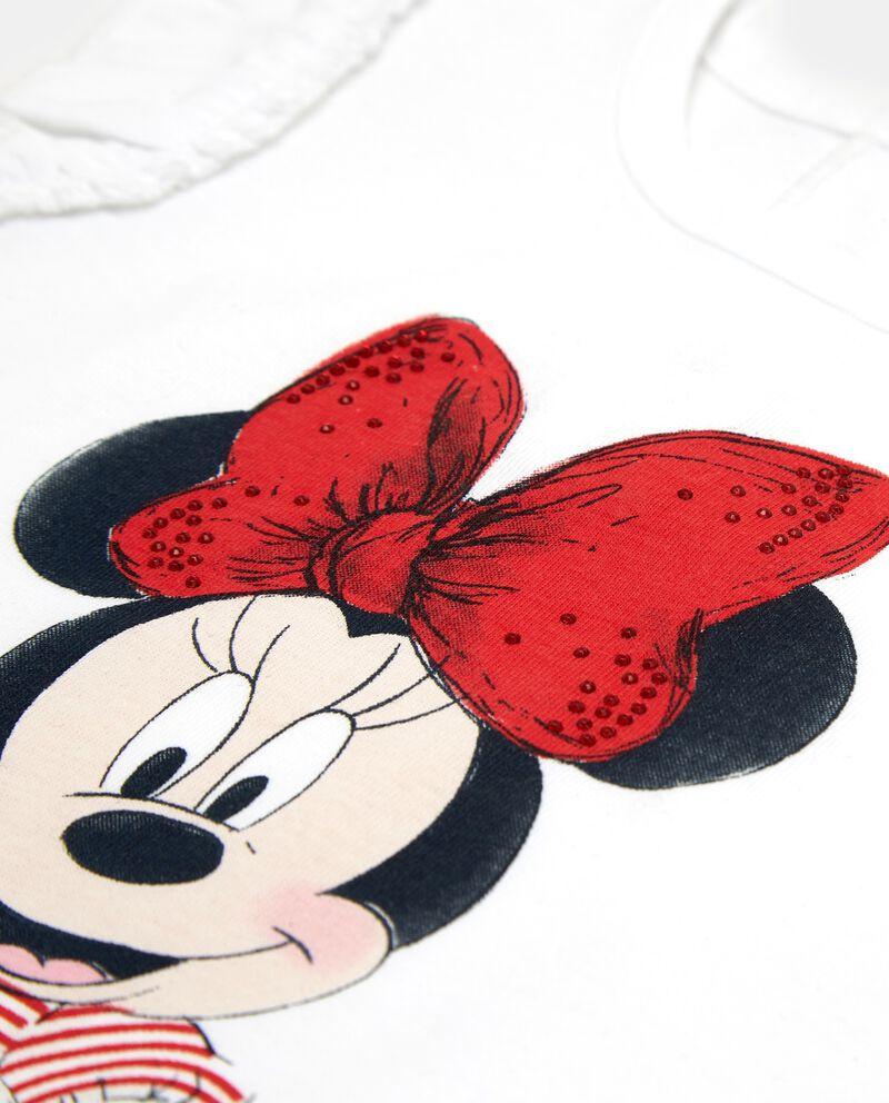 T-shirt girocollo stampa Minnie