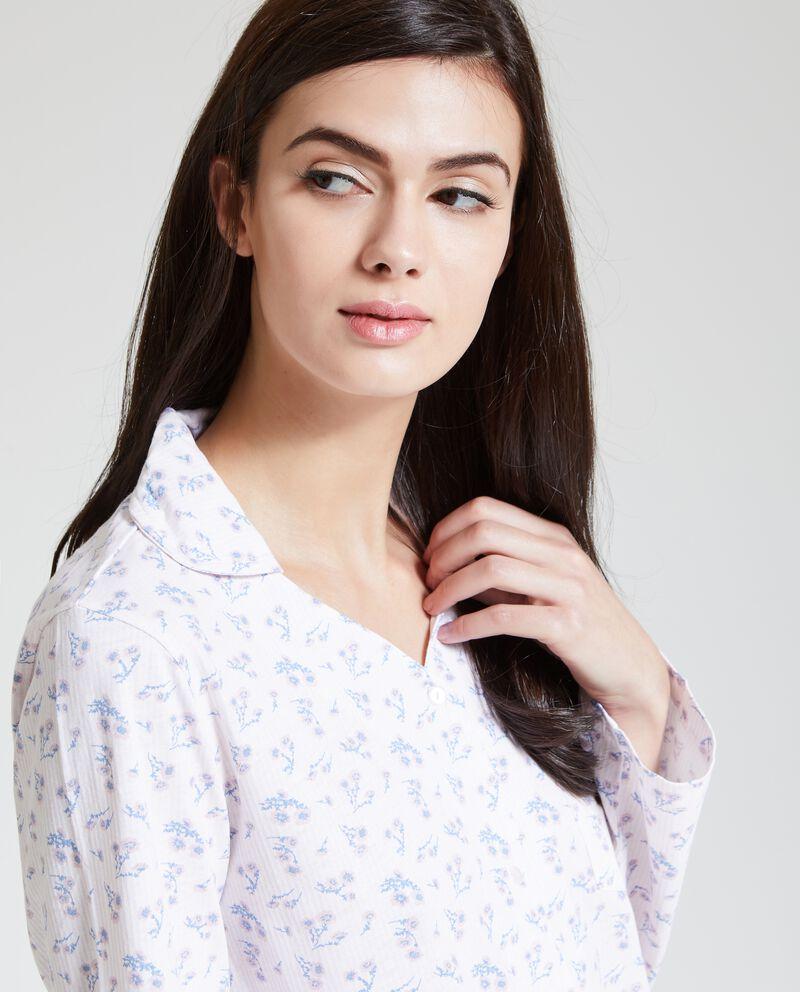 Set pigiama con fantasia floreale donna