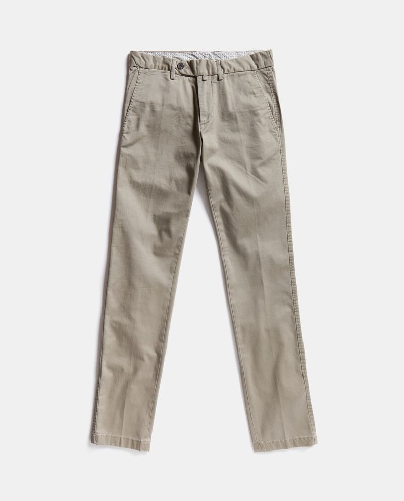 Pantaloni eleganti in tinta unita uomo cover