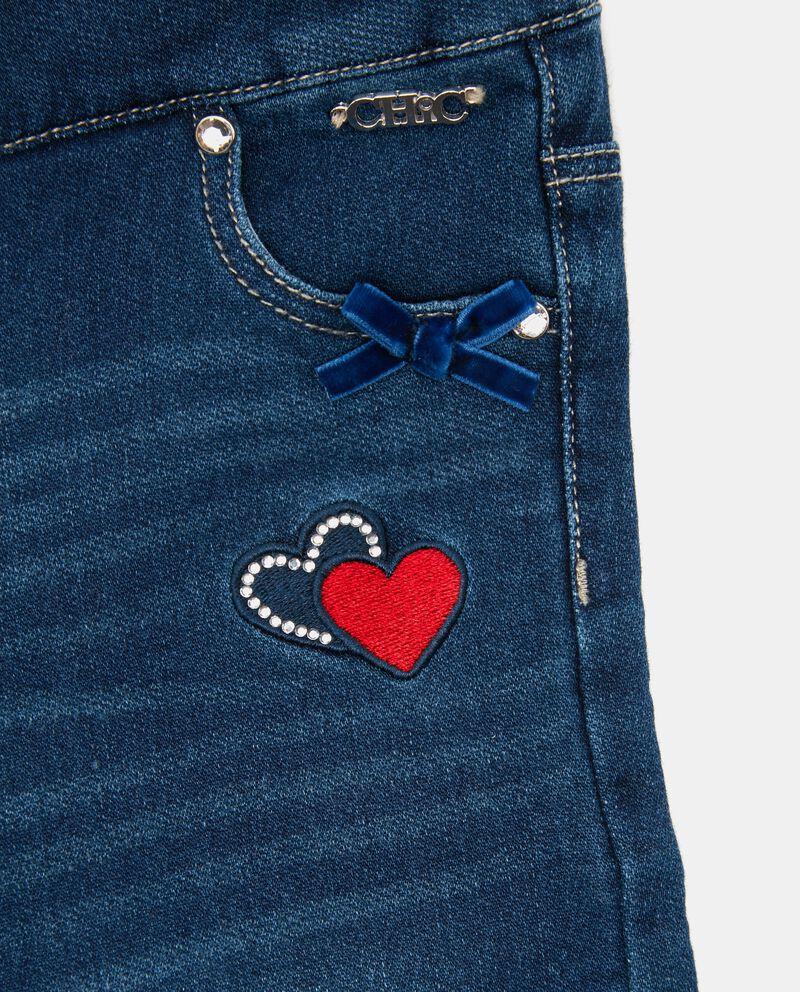 Jeans fiocchetti neonata