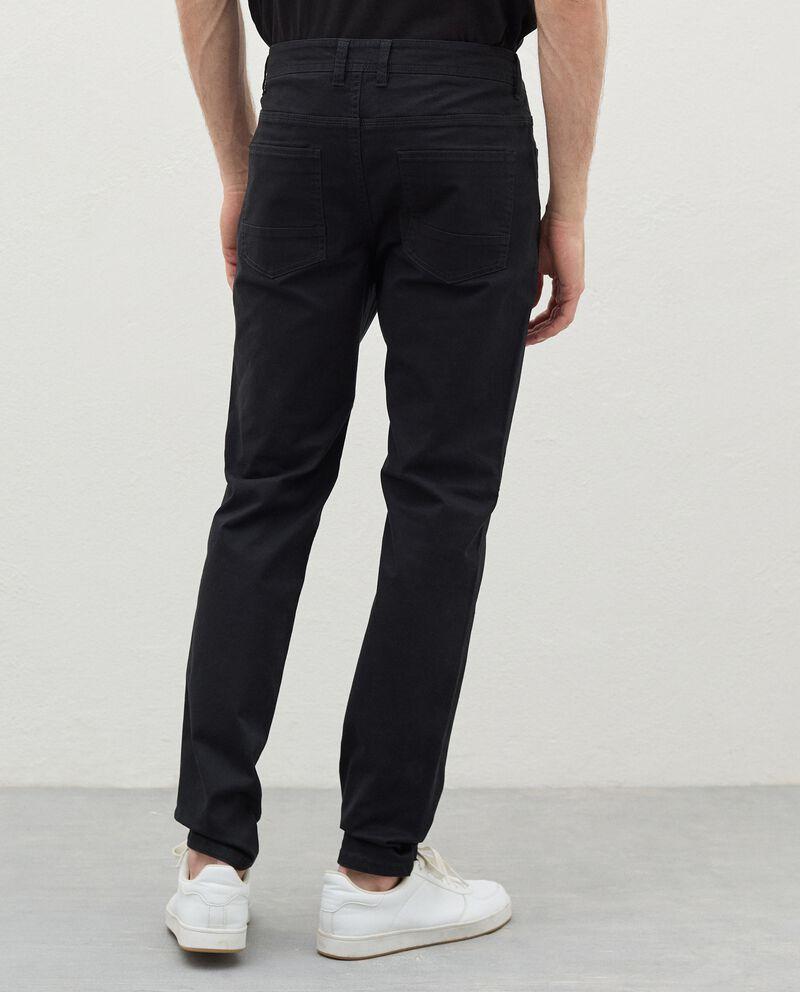 Pantaloni skinny in cotone uomo single tile 1