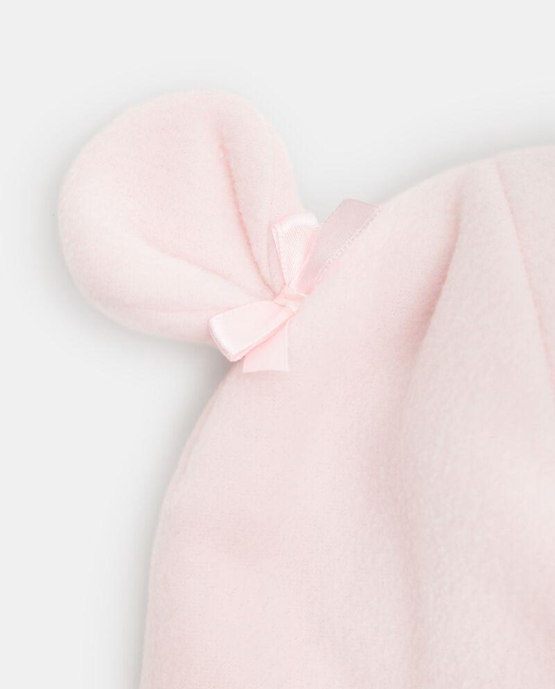 Cappellino in pile a forma di orsetto neonata single tile 1
