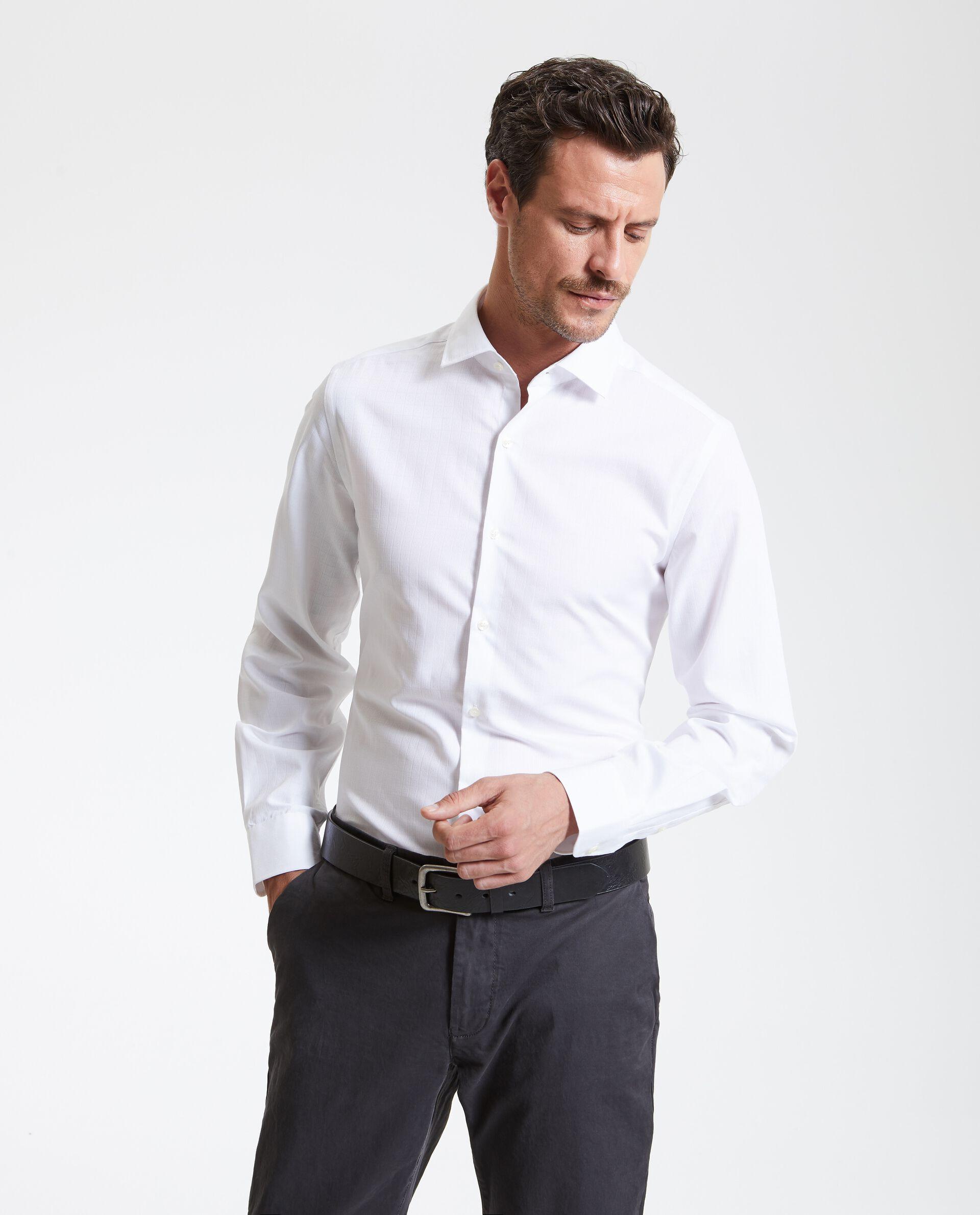 Camicia in puro cotone uomo