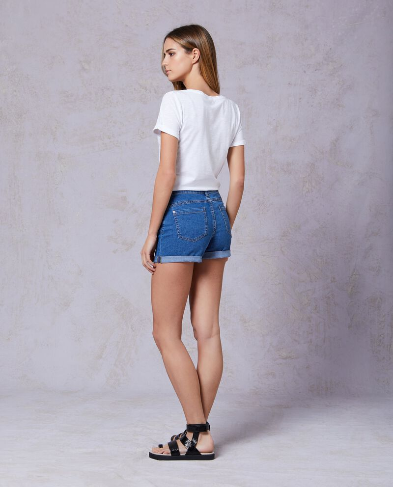 Shorts in jeans donna
