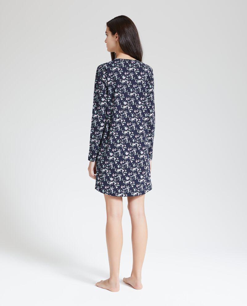 Camicia da notte puro cotone single tile 2