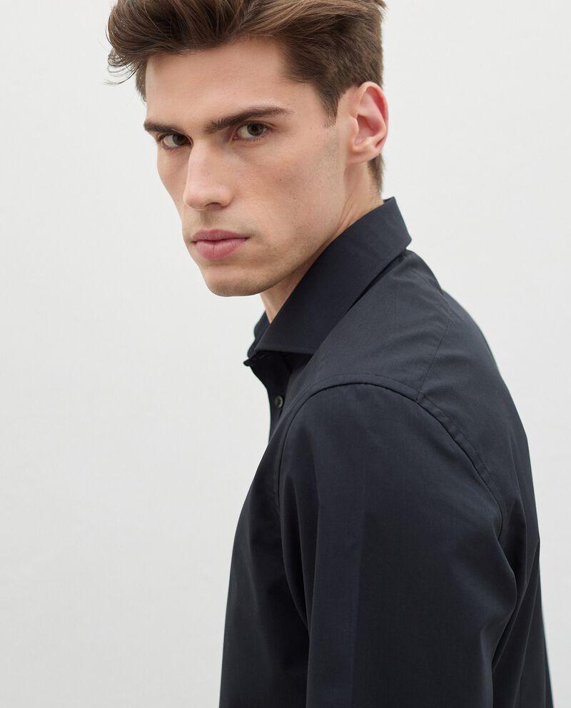 Camicia elegante in cotone uomo single tile 2