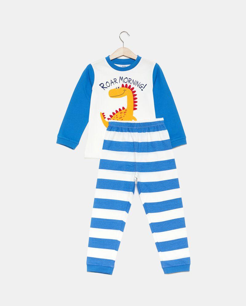 Set pigiama t-shirt e pantaloni a righe bambino
