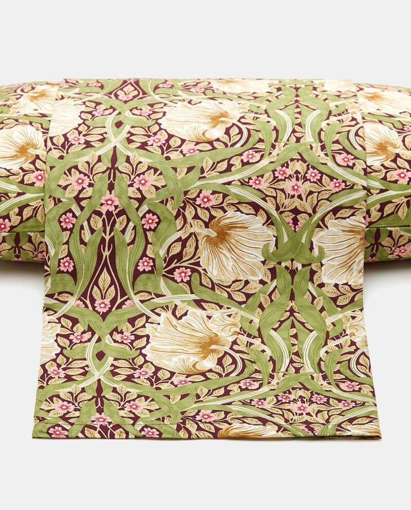 Lenzuolo con stampa floreale di puro cotone cover