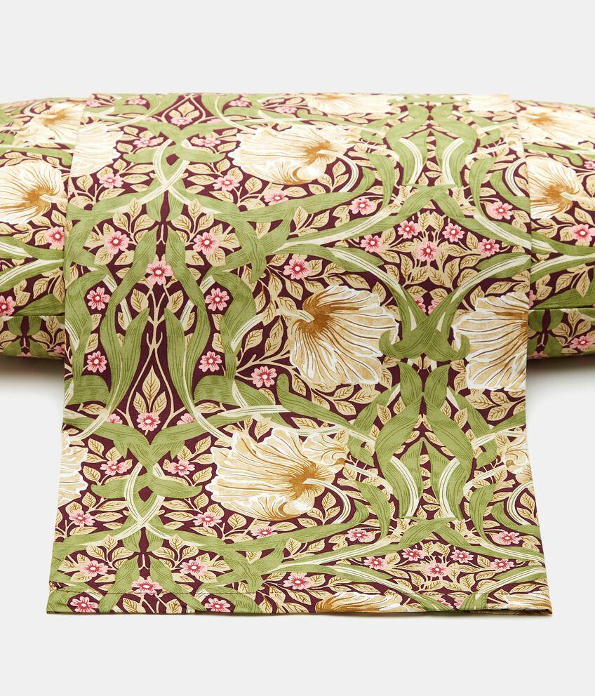 Lenzuolo con stampa floreale di puro cotone double 1