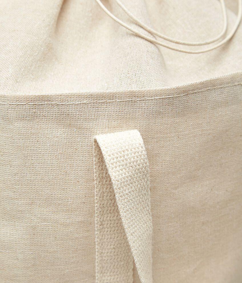 Sacca portabiancheria in tessuto